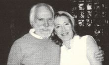 Georges MOUSTAKI et Emma THOMPSON en 2003