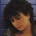 Danielle Messia au début des années 1980 - Photo (c) Jean Lebreton