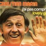 Christian Marin - Pochette d'un 45 tours de 1973 (c) A. Nisak