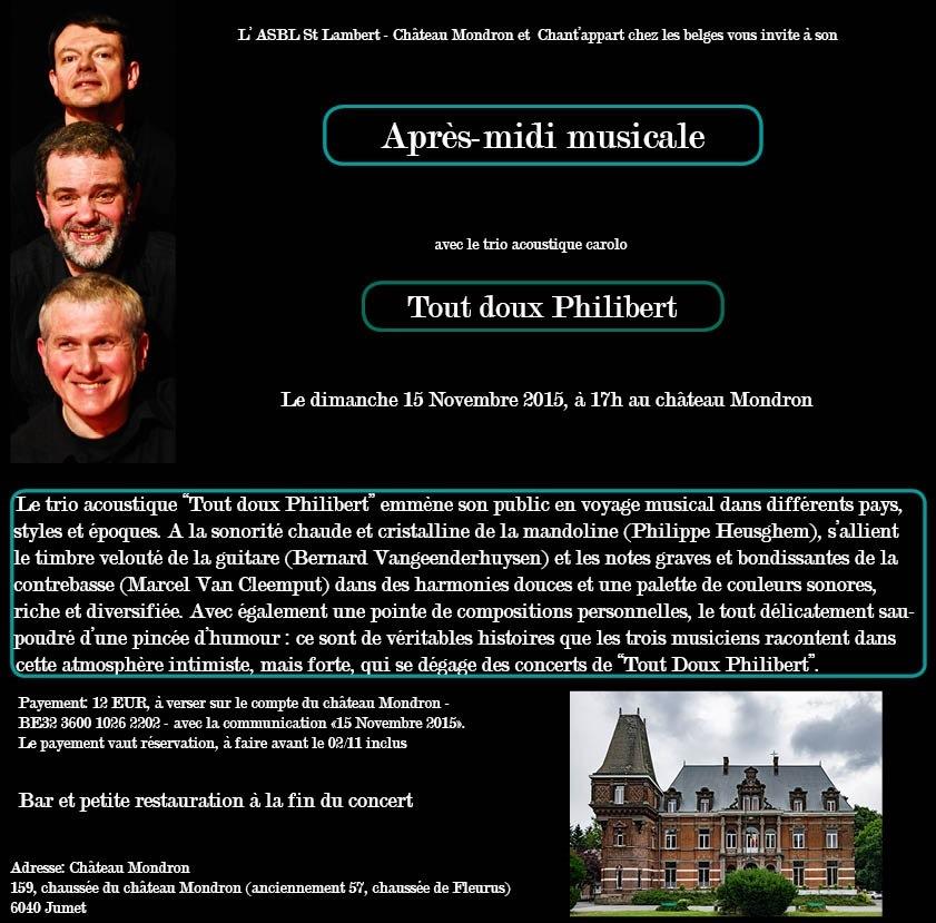 2015 11 15 Mondron Tout doux Philibert