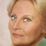 Michèle Morgan en 1976 - Photo (c) Georges Spitzer