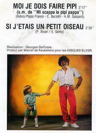 Un disque de JJ Lionel réalisé par Georges Delfosse