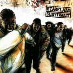 STARFLAM Pochette album Survivant 2001
