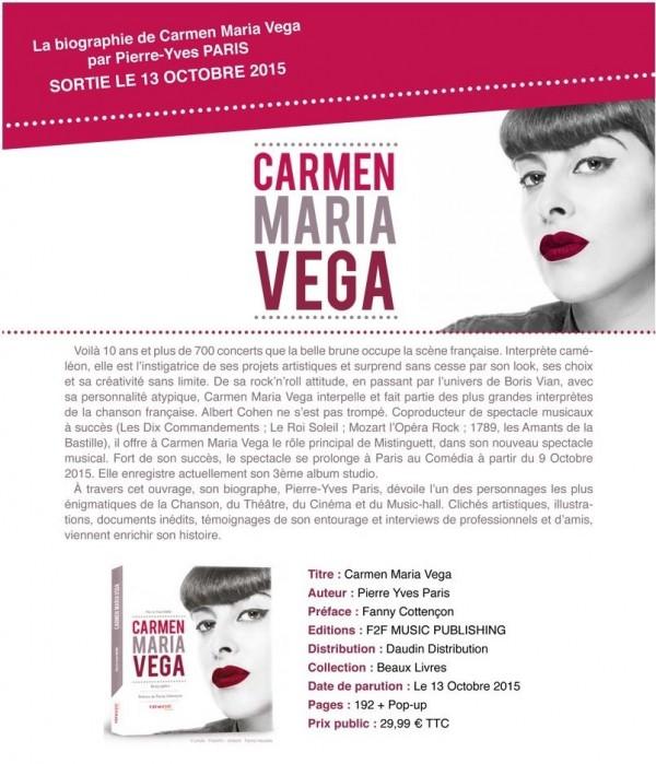 2013 02 98 Carmen Maria Vega livre bio
